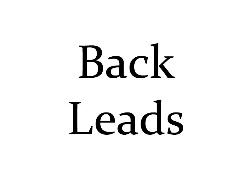 Backleads