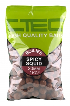 Spro C-Tec Boilies Spicy Squid 20mm