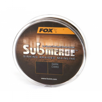 Fox Submerge™ Sinking Braided Mainline - Dark Camo 600m
