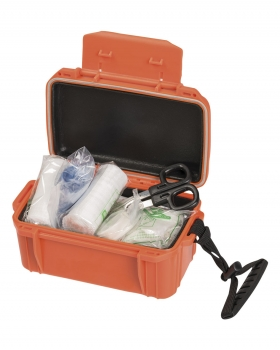 Mil-Tec First Aid Kit Waterproof orange