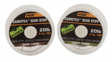 Fox EDGES™ Camotex™ Semi Stiff Coated Camo Braid