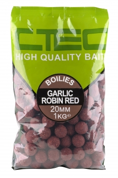 Spro C-Tec Boilies Garlic Robin Red 20mm