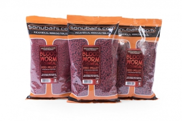 Sonubaits Bloodworm Fishmeal Feed Pellets 6mm 900g
