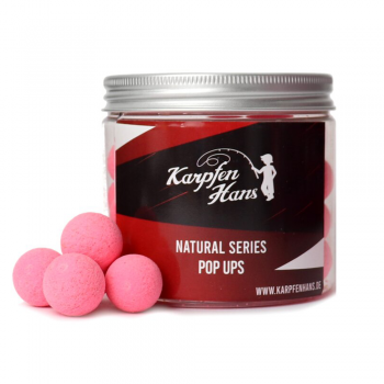 Karpfen Hans Pop Up Washed Out pink Erdbeere 12 mm 75 g