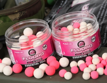 Mainline Fluoro Mini Pop Ups pink & white Hybrid 8mm