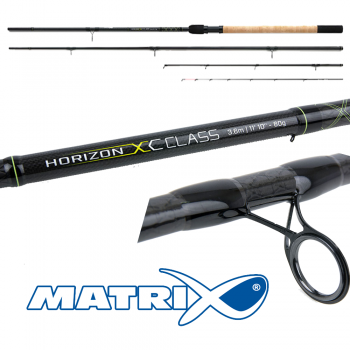 Matrix Horizon XC Class Feeder Rods 3.6m 60g 2pc inc 2 tips