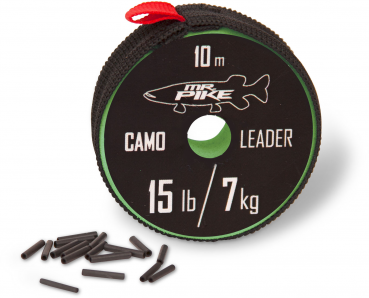 Mr. Pike Camo Coated Leader Material camou