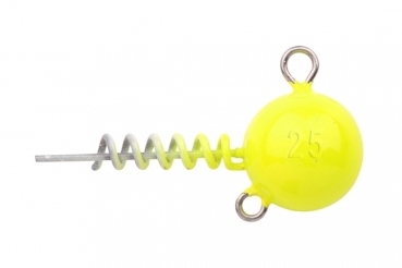 Spro Spiral Head UV Yellow