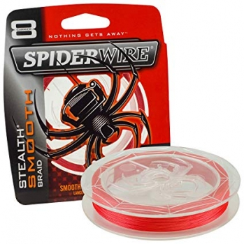 Spider Wire Stealth Smooth 8 Red