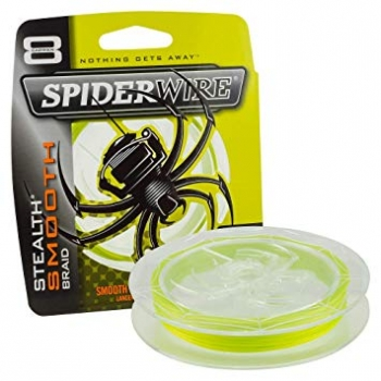 Spider Wire Stealth Smooth 8 Yellow