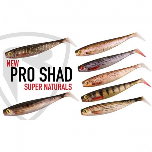 Foxrage Pro Shad Super Natural 18cm